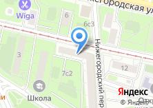Компания «РегионИнвестСтрой» на карте