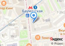 Компания «ARTIST HOSTEL НА БАУМАНСКОЙ» на карте