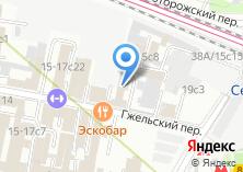Компания «ZonaMed» на карте