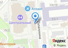 Компания «Tennis star» на карте