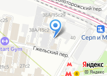 Компания «Мосцветторг» на карте