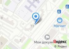 Компания «Тюмень» на карте