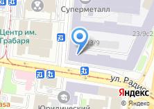 Компания «МСтрой» на карте
