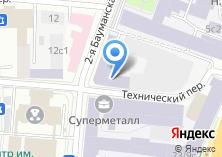 Компания «Московский государственный технический университет им. Н.Э. Баумана» на карте