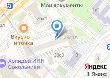 Компания «Инженерная служба района Сокольники» на карте