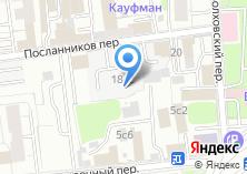 Компания «Инсервис» на карте