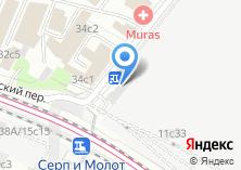 Компания «Fastens.ru» на карте