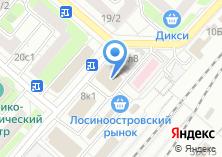 Компания «Магазин колбасной продукции» на карте
