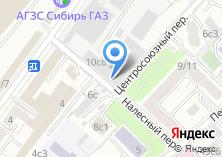 Компания «Басманное» на карте
