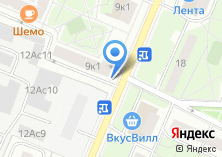 Компания «Айрус» на карте