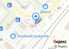 Компания «Узловая поликлиника на ст. Лосиноостровская» на карте