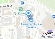 Компания «Городское такси» на карте
