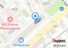 Компания «INNOVO Group» на карте