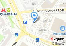Компания «Автодеталь» на карте