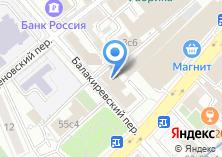 Компания «Сател» на карте