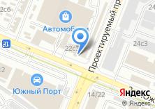 Компания «Шиномонтажная мастерская на Южнопортовой» на карте