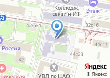 Компания «Кадетская школа №1785» на карте