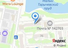 Компания «Мировые судьи Видновского района» на карте