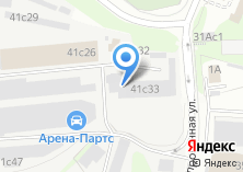 Компания «Метакон» на карте