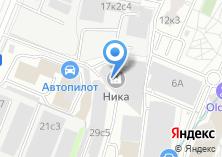 Компания «Ника сеть салонов ювелирных часов» на карте