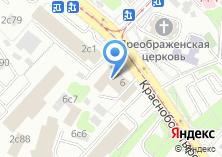 Компания «Раут-мебель» на карте
