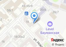 Компания «Кокетка» на карте