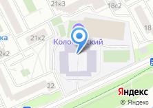 Компания «Кадетская школа №1770» на карте