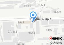 Компания «Дакар» на карте