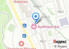 Компания «Студия остеопатии Перламонова Михаила» на карте