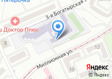 Компания «Средняя общеобразовательная школа №374» на карте