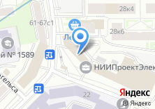 Компания «Бобры» на карте