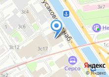 Компания «Атекспроф» на карте