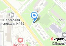 Компания «СК Дедал» на карте