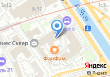 Компания «Инвесткапстрой» на карте