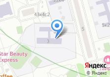 Компания «Средняя общеобразовательная школа №878 с дошкольным отделением» на карте