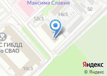 Компания «Арт Нуво» на карте