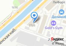 Компания «Лефорт» на карте