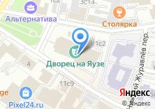 Компания «Жалюзи Электрозаводская» на карте