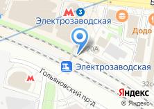 Компания «Магазин хлебобулочных изделий на Большой Семёновской» на карте