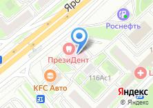 Компания «ПрезиДЕНТ» на карте