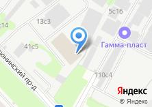 Компания «Инфпроект» на карте