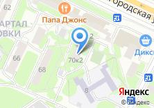 Компания «Энерготехмонтаж» на карте
