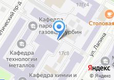 Компания «Московский энергетический институт (национальный исследовательский университет)» на карте