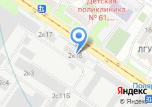 Компания «Центральный институт авиационного моторостроения им. П.И. Баранова» на карте
