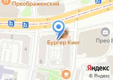Компания «Преображенская застава» на карте