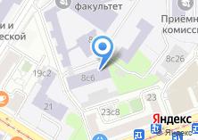 Компания «Московский технический университет связи и информатики» на карте