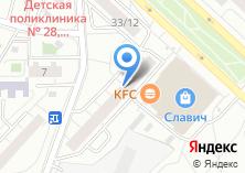 Компания «Авто-СВ» на карте