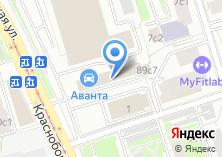 Компания «Невский Банк Московский филиал» на карте