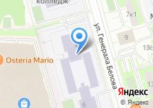 Компания «Московский колледж управления и новых технологий» на карте