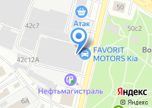 Компания «Автопрага FAVORIT MOTORS» на карте